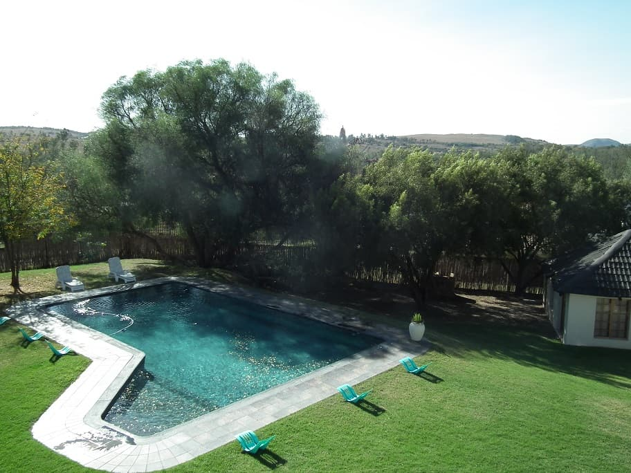 Guest pool in Lanseria